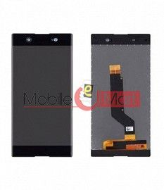 Lcd Display With Touch Screen Digitizer Panel Combo Folder Glass For Sony Xperia XA1 Ultra (Black)