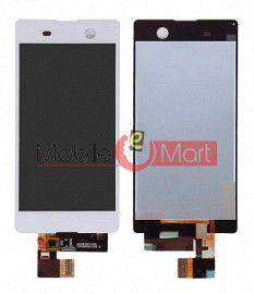 Lcd Display With Touch Screen Digitizer Panel Combo Folder Glass For Sony Xperia M5 (black)