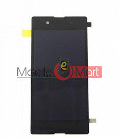 Lcd Display With Touch Screen Digitizer Panel Combo Folder Glass For Sony Xperia E3 (Black)