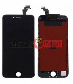 Lcd Display With Touch Screen Digitizer Panel Combo Folder Glass For Apple iPhone 6s (Black)