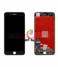 Lcd Display With Touch Screen Digitizer Panel Combo Folder Glass For Apple iPhone 7 7G (Black)