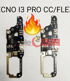 Charging Connector Port Flex Cable For Tecno I3 Pro