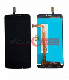 Lcd Display With Touch Screen Digitizer Panel Combo Folder Glass For Gionee CTRL V4S (Black)