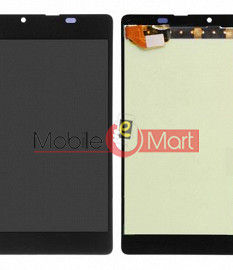 Lcd Display With Touch Screen Digitizer Panel Combo Folder Glass For Nokia Lumia 540 (Black)