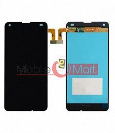 Lcd Display With Touch Screen Digitizer Panel Combo Folder Glass For Microsoft Lumia 550 (Black)