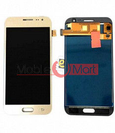 Lcd Display With Touch Screen Digitizer Panel Combo Folder Glass For Samsung Galaxy J2 (2016) (Black)