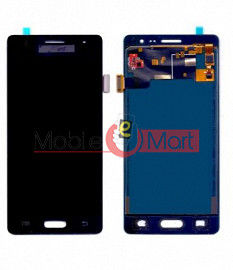 Lcd Display With Touch Screen Digitizer Panel Combo Folder Glass For Samsung Z3 (Black)