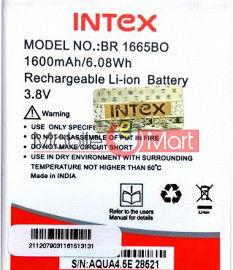 Ajah Mobile Battery For Intex Aqua 4.5E