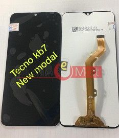 Lcd Display With Touch Screen Digitizer Panel For Tecno Spark 3 Kb7