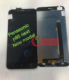 Lcd Display With Touch Screen Digitizer Panel Combo Folder Glass For  Panasonic P85 NXT (Black)