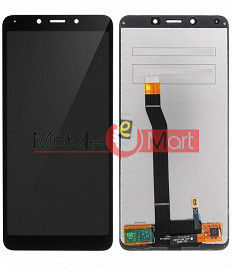 Lcd Display With Touch Screen Digitizer Panel Combo Folder Glass For Xiaomi Redmi 6A (White)