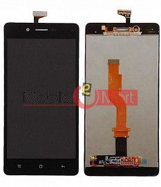 Lcd Display With Touch Screen Digitizer Panel Combo Folder Glass For Oppo A33 (White)