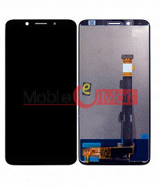 Lcd Display With Touch Screen Digitizer Panel Combo Folder Glass For Oppo F5 (White)