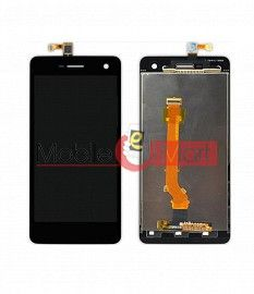 Lcd Display With Touch Screen Digitizer Panel Combo Folder Glass For Oppo R819 (White)