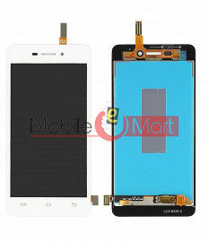 Lcd Display With Touch Screen Digitizer Panel Combo Folder Glass For Vivo Y31L (White)