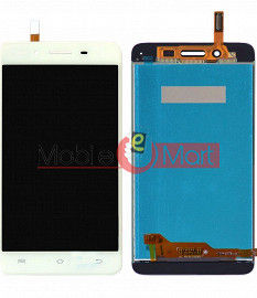 Lcd Display With Touch Screen Digitizer Panel Combo Folder Glass For Vivo V3 (White)