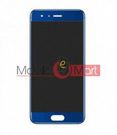 Lcd Display With Touch Screen Digitizer Panel Combo Folder Glass For HONOR 9 (White)