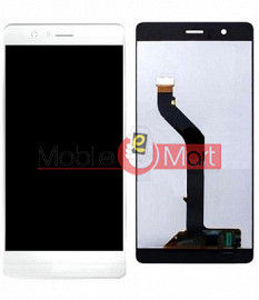 Lcd Display With Touch Screen Digitizer Panel Combo Folder Glass For Huawei P9 lite (White)