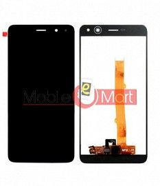 Lcd Display With Touch Screen Digitizer Panel Combo Folder Glass For Huawei Y5 2017 (White)