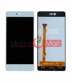 Lcd Display With Touch Screen Digitizer Panel Combo Folder Glass For Gionee F103 Pro (White)
