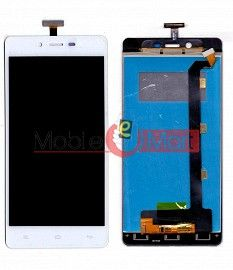 Lcd Display With Touch Screen Digitizer Panel Combo Folder Glass For Gionee Marathon M3 (White)