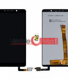 Lcd Display With Touch Screen Digitizer Panel Combo Folder Glass For Micromax HS1 (White)