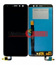 Lcd Display With Touch Screen Digitizer Panel Combo Folder Glass For Micromax Canvas Infinity Pro HS3 (White)