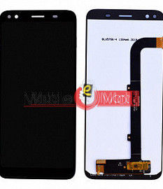 Lcd Display With Touch Screen Digitizer Panel Combo Folder Glass For Micromax Canvas 1 C1A