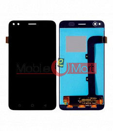 Lcd Display With Touch Screen Digitizer Panel Combo Folder Glass For Micromax Canvas 1 (White)