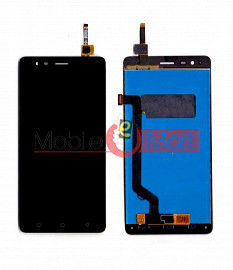 Lcd Display With Touch Screen Digitizer Panel Combo Folder Glass For Lenovo K5 Note (White)