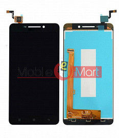 Lcd Display With Touch Screen Digitizer Panel Combo Folder Glass For Lenovo A5000 (White)