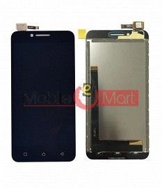 Lcd Display With Touch Screen Digitizer Panel Combo Folder Glass For Lenovo Vibe C A2020 (White)
