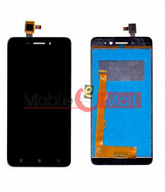 Lcd Display With Touch Screen Digitizer Panel Combo Folder Glass For Lenovo S60 (White)