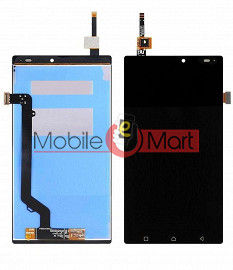 Lcd Display With Touch Screen Digitizer Panel Combo Folder Glass For Lenovo Vibe K4 Note (White)