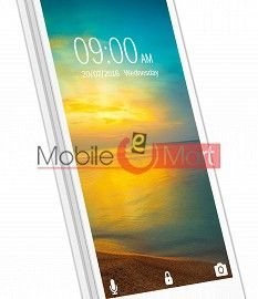 Lcd Display With Touch Screen Digitizer Panel Combo Folder Glass For Lava A76 Plus (White)