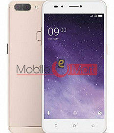 Lcd Display With Touch Screen Digitizer Panel Combo Folder Glass For Lava Z90 (White)