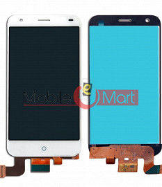 Lcd Display With Touch Screen Digitizer Panel Combo Folder Glass For Lyf Water 2 (White)