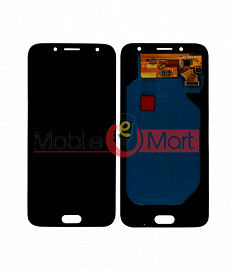 Lcd Display With Touch Screen Digitizer Panel Combo Folder Glass For Samsung Galaxy J7 Pro (Black)
