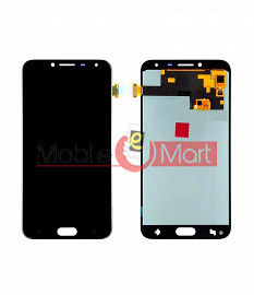 Lcd Display With Touch Screen Digitizer Panel Combo Folder Glass For Samsung Galaxy J4 (Gold)