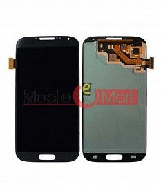 Lcd Display With Touch Screen Digitizer Panel Combo Folder Glass For Samsung Galaxy S4 (Black)