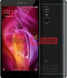 Lcd Display With Touch Screen Digitizer Panel Combo Folder Glass For Redmi Note 4