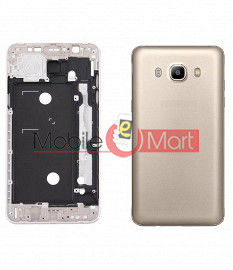 Full Body Housing Panel Faceplate For Samsung Galaxy J5 (2016) Gold