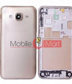 Full Body Housing Panel Faceplate For Samsung Galaxy J7 Gold