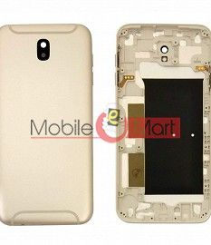Full Body Housing Panel Faceplate For Samsung Galaxy J7 Pro White