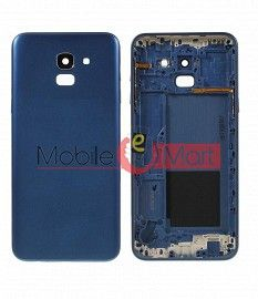 Full Body Housing Panel Faceplate For Samsung Galaxy J8 Blue