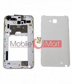 Full Body Housing Panel Faceplate For Samsung Galaxy Note White