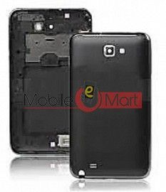 Full Body Housing Panel Faceplate For Samsung Galaxy Note Black