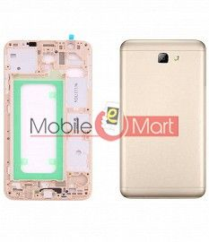 Full Body Housing Panel Faceplate For Samsung Galaxy On7 Gold