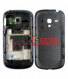 Full Body Housing Panel Faceplate For Samsung Galaxy S3 mini Black