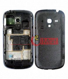 Full Body Housing Panel Faceplate For Samsung Galaxy S3 mini Black